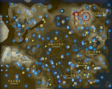 ゼルダの伝説 試練の祠 マップ