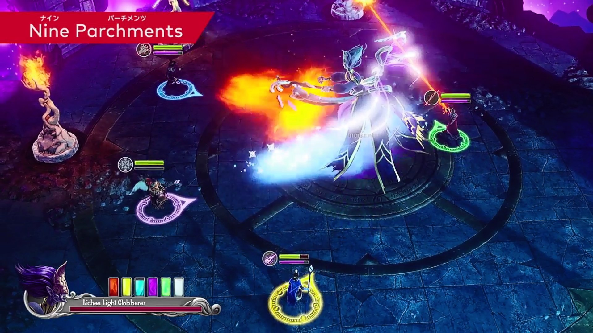Nintendo Switchインディーズゲーム『Nine Parchments』