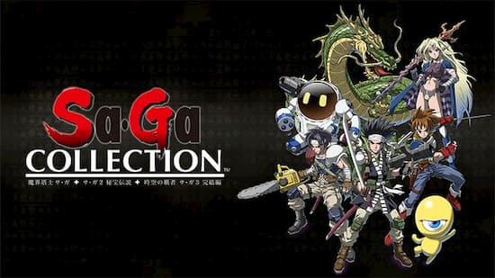「サガ」シリーズの初期三作をまとめた『Sa ・ Ga COLLECTION』がSwitchで12月15日発売