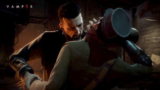 アクションRPG『ヴァンパイア ( Vampyr )』が国内向けに2020年秋にSwitchでも発売決定