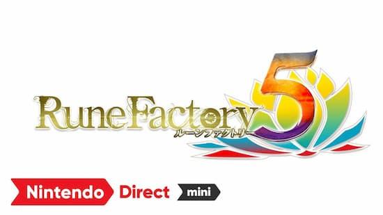 Nintendo Direct miniで『ルーンファクトリー5』が2021年春に発売と発表!